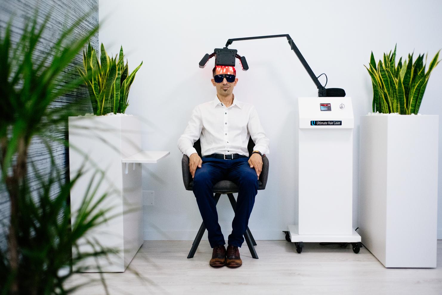 tratament cu laser pentru par